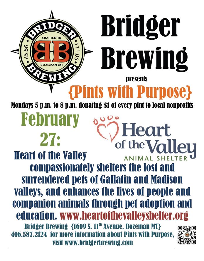 Pints with Purpose 2-27-17