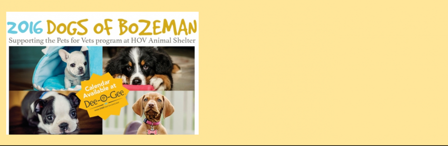 The 2016 Dogs of Bozeman calendar is here!